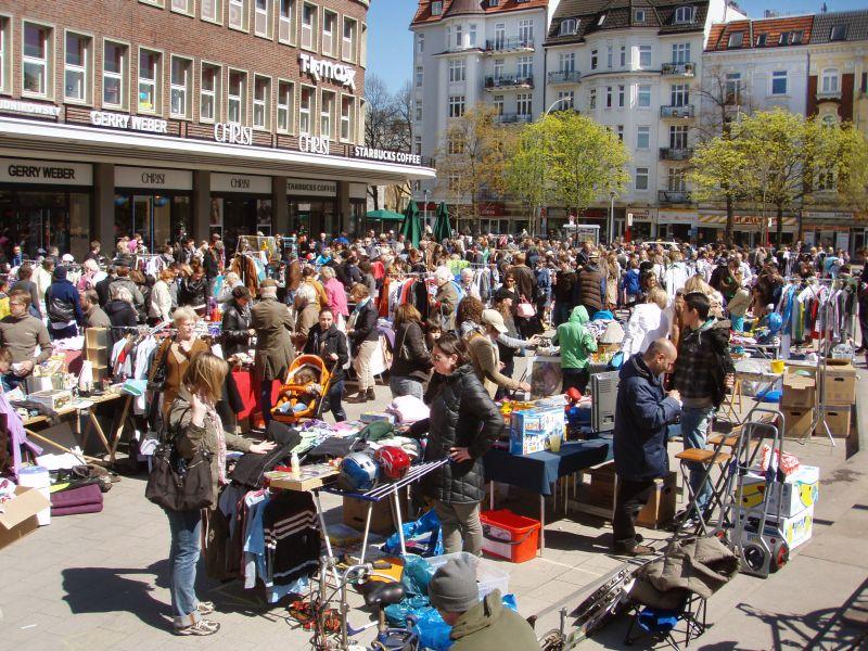 Anwohnerflohmarkt Marie-Jonas-Platz in Eppendorf