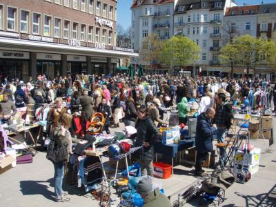 Flohmarkt Marie-Jonas-Platz Eppendorf