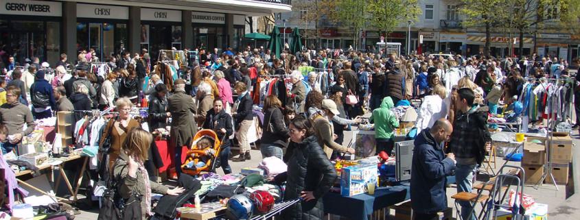 Anwohner Flohmarkt Marie-Jonas-Platz