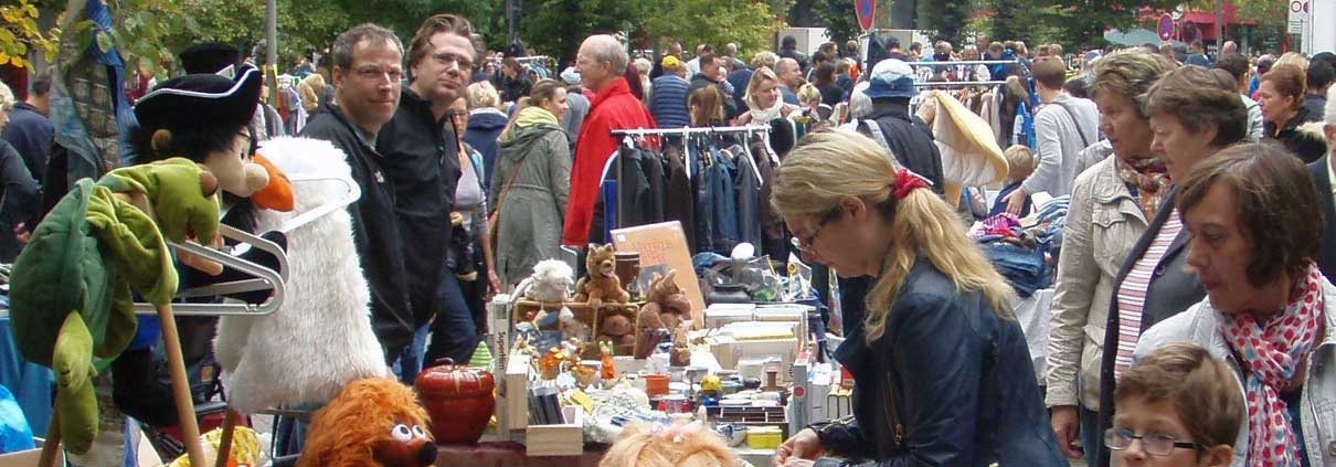 Anwohnerflohmarkt Grelckstrasse in Eppendorf