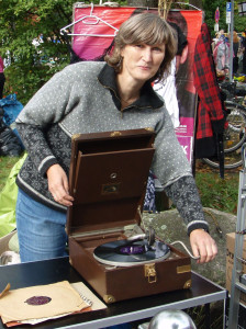 Flohmarkt mit Musik