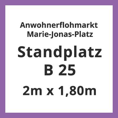 MJP-Standplatz-B25