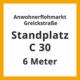 GS Standplatz C§0